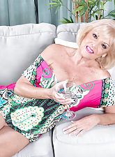 A granny relating to crotchless camiknickers